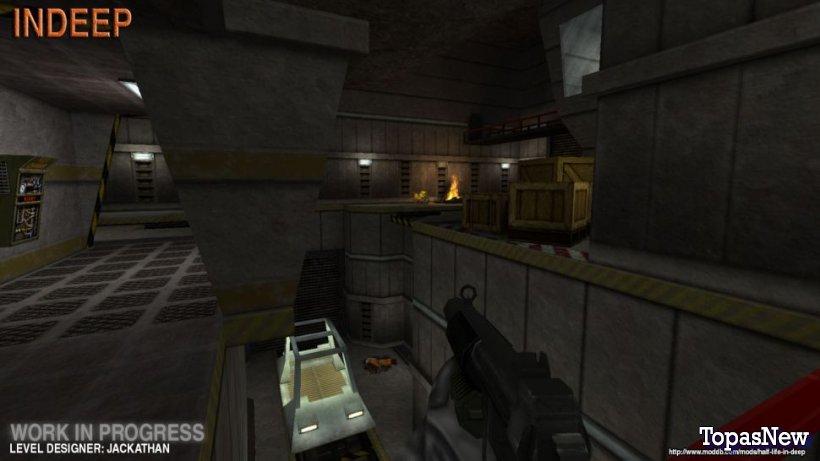 Мод, который воссоздает альфа Half-Life