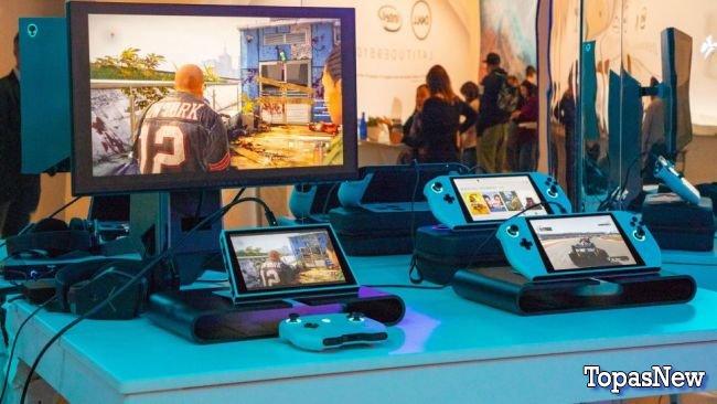 Alienware создали прототип портативного ПК, который работает как Nintendo Switch