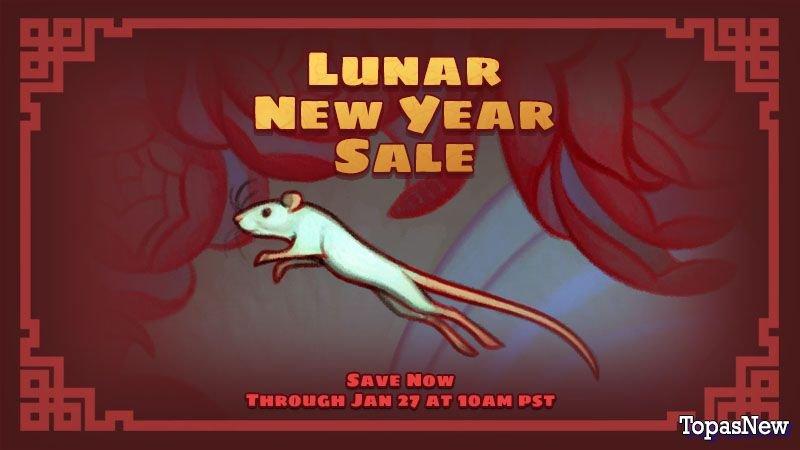 Lunar New Year Sale стартует в Steam: скидки и подарки
