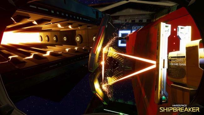 Hardspace: Shipbreaker - игра об опасной работе по разбору космических кораблей