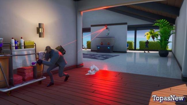Игра в шпиона в новом сезоне Fortnite